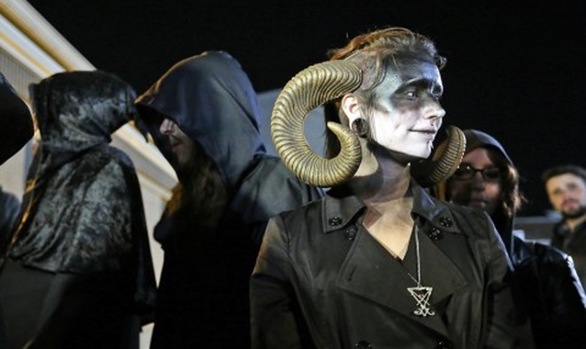 Satanistas. (Foto: Washington Post)