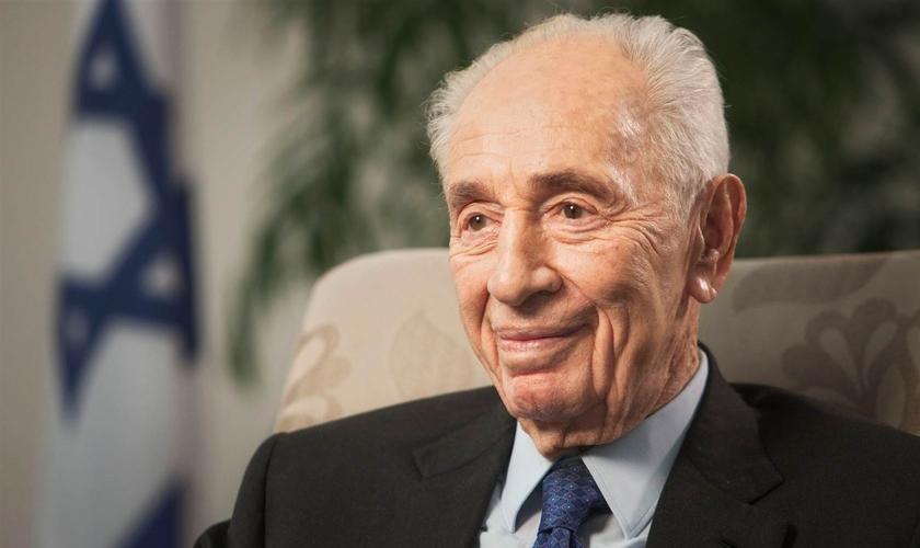 Shimon Peres assumiu a presidência israelense entre 2007 e 2014. (Foto: Dan Balilty/AP File)