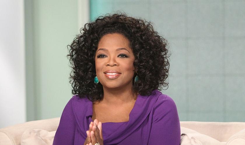 Oprah diz que foi formada por hist�rias da B�blia que ensinam a confiar em Jesus. (Foto: George Burns)
