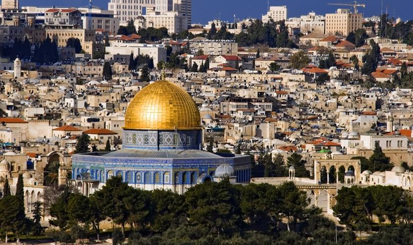 Monte do Templo em Jerusalém. (Foto: Israel News)
