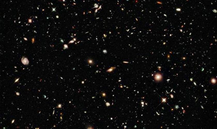 Imagem captada pelo Telescópio Espacial Hubble serviu de base para o estudo. (Foto: AFP)