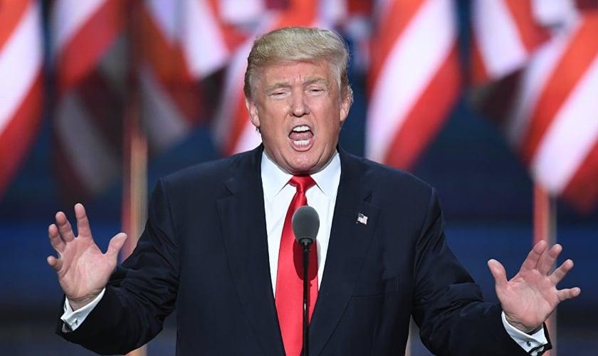O rabino diz que os códigos apontam para a vitória de Donald Trump na eleição dos EUA. (Foto: AFP/Jim Watson)