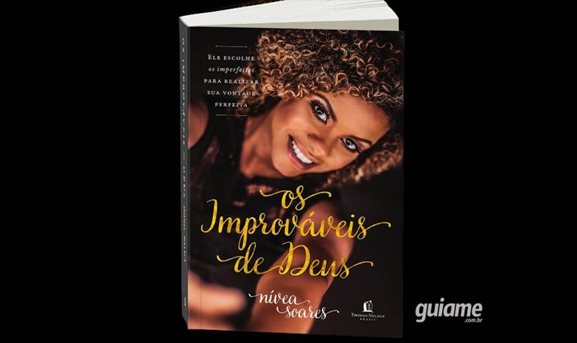 Nívea lançará o livro neste domingo (6), às 18h, na Igreja Batista da Lagoinha. (Foto: Divulgação).
