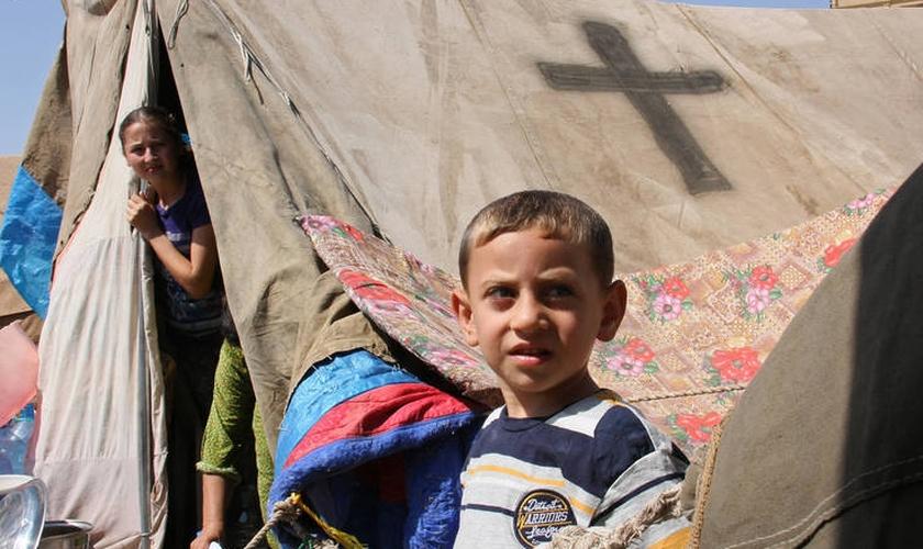 Rami espera ganhar um milhão de assinaturas apoiando a igreja cristã que permanece no Oriente Médio. (Foto: Reuters).