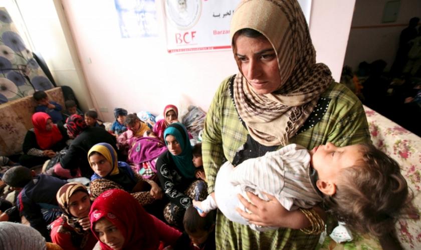 Muitas das mulheres e meninas que foram estupradas por membros do Estado Islâmico foram forçadas a abortar. (Foto: Reuters).