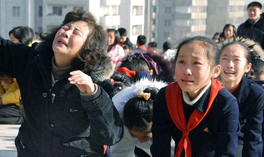 A perseguição religiosa na Coreia do Norte tem sido considerada a mais intensa do mundo. (Foto: libertyinnorthkorea)