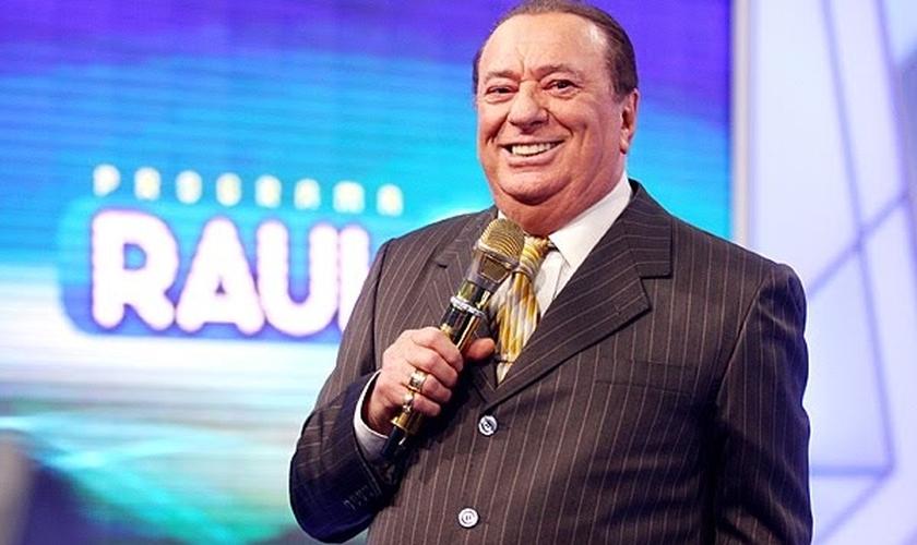 Raul Gil esteve desde 2010 no SBT. (Foto: Arte FM)