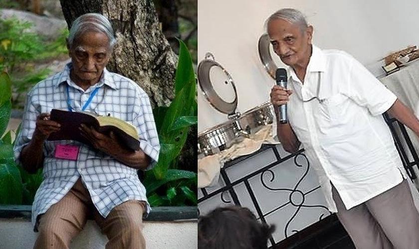 Pastor Tiddy Senapatiratne é incansável na pregação do evangelho, no Sri Lanka. (Imagem: Facebook)