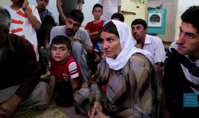 O garoto contou sobre o fato de crianças terem matado seis pessoas neste dia. (Foto: Reprodução).