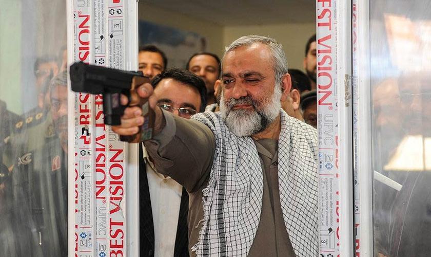 O general de brigada Mohammad Reza Naqdi afirmou que Israel será destruído nos próximos dez anos. (Foto: Arja Fajari/Isna)