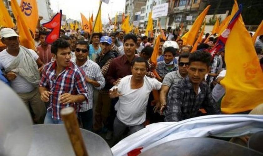 A Índia é o 17º país que mais persegue cristãos no mundo. (Foto: Reprodução)