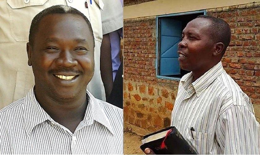 Kuwa Shamal (esquerda) e Hassan Taour estão entre os vários ministros cristãos visados pelo Serviço Nacional de Inteligência do Sudão. (Foto: World Watch Monitor)