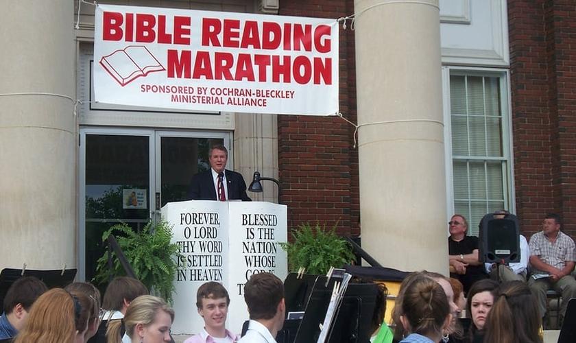 Uma das igrejas participantes da maratona de leitura da Bíblia de 2017 é a Igreja Presbiteriana LaGrange. (Foto: Reprodução).