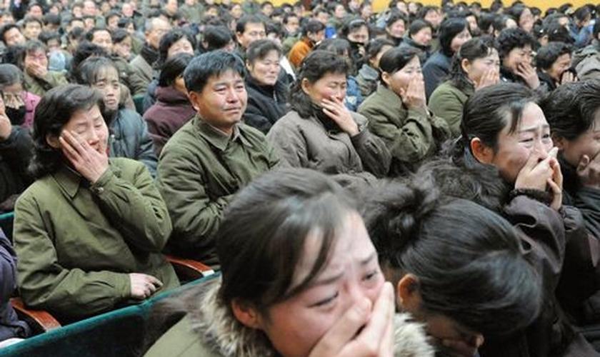 Além do assombroso número de cristãos mortos por sua fé, milhões de outros foram impedidos de praticar livremente sua religião. (Foto: AFP).