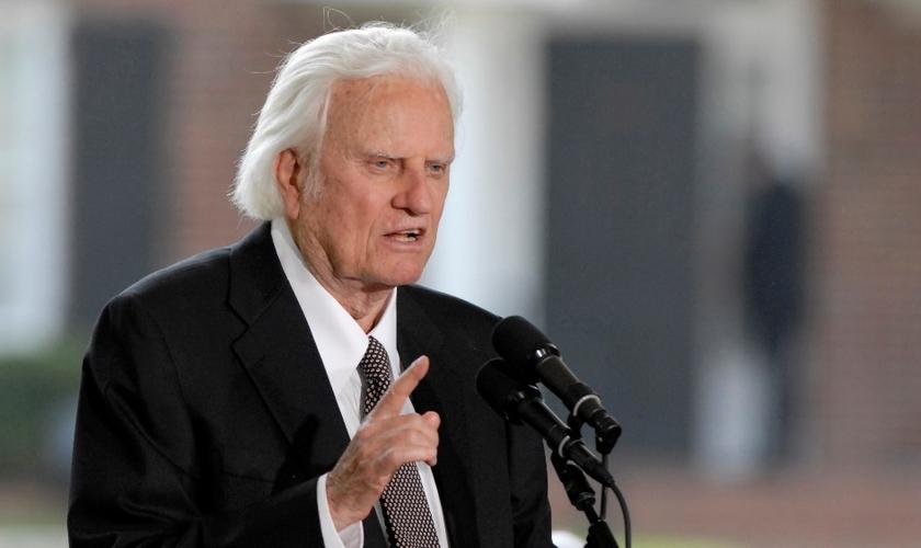 Graham, que completou 98 anos em novembro, fez sua última cruzada há 11 anos. (Foto: Reprodução).
