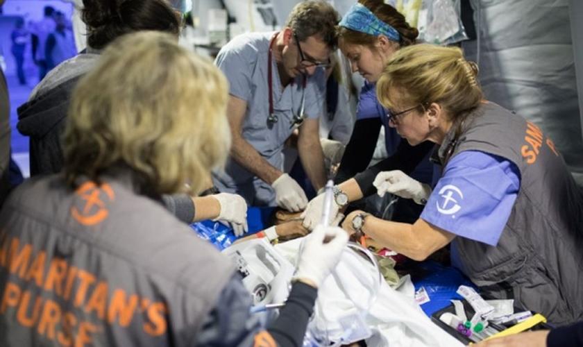 O hospital tem socorrido pessoas feridas pelos conflitos no Iraque. (Foto: Divulgação/Samaritan's Purse)