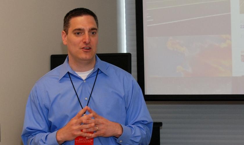 Jason Romano trabalhou na ESPN por 16 anos e agora quer se dedicar a apoiar igrejas na divulgação de suas iniciativas nas redes sociais. (Foto: Bowling Green State University)