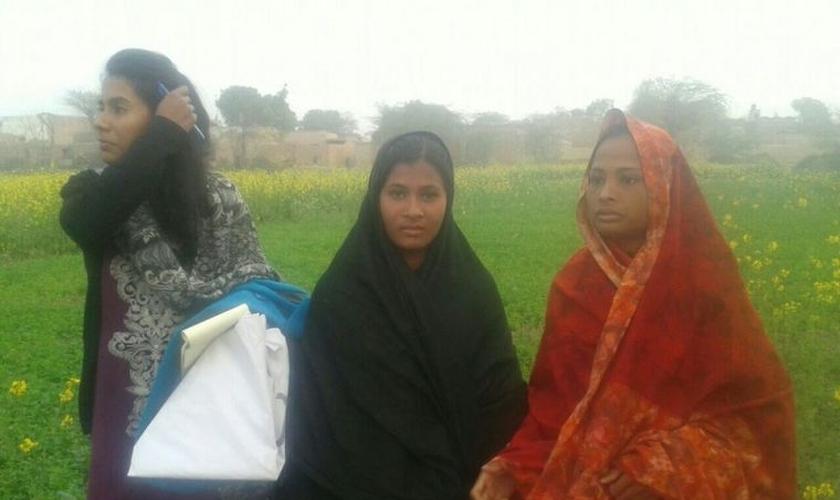 A dura história de Fouzia começou em julho de 2015 e foi bastante divulgada no ano passado. (Foto: British Pakistani Christian Association).