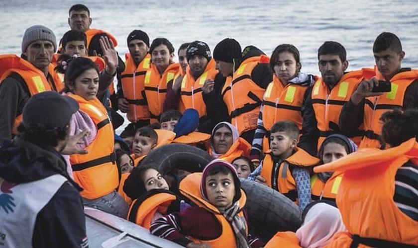 Refugiados sírios. (Foto: Reuters)