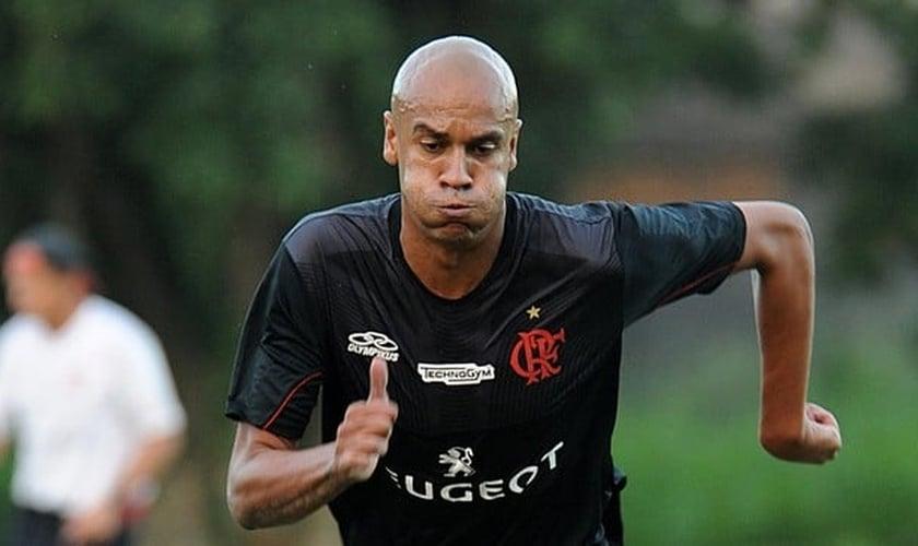 Alex Silva nos tempos de Flamengo. Saída do clube foi pior momento de sua carreira. (Foto: Alexandre Vidal/Flaimagem)