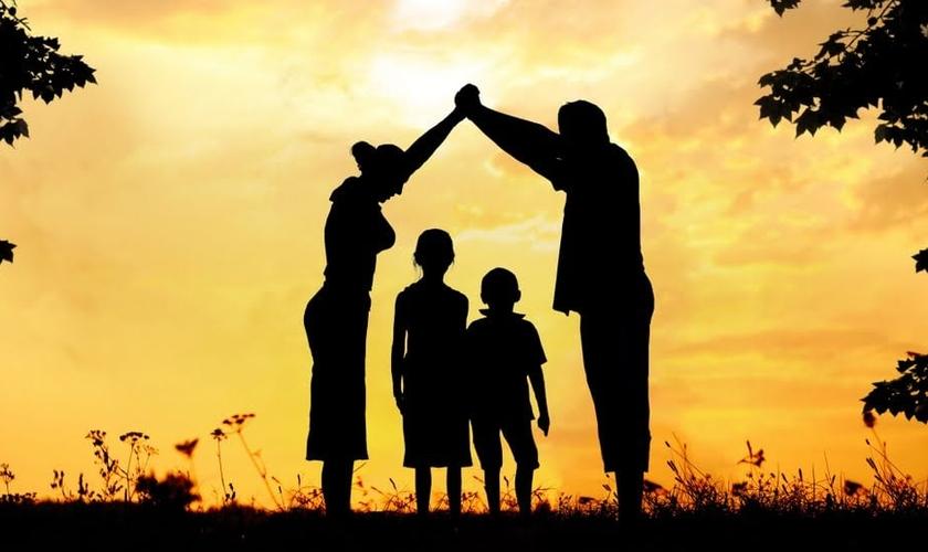 Família. (Foto: Encontro com Cristo)