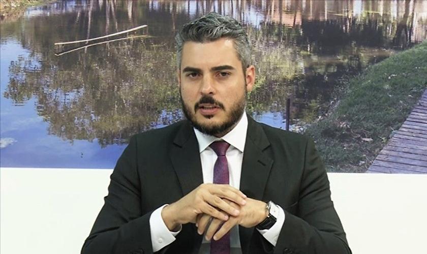 Thiago Flores é prefeito de Ariquemes, Roraima. (Imagem: G1)