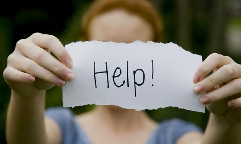 Pedido de ajuda. (Foto: Getty)