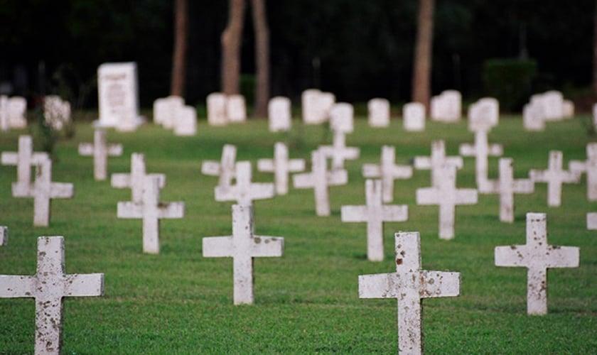 Cemitério. (Foto: Texas Prison Museum)