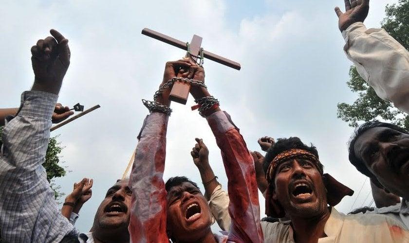 A dura perseguição no período da igreja primitiva era um verdadeiro massacre contra os cristãos. (Foto: Reprodução).