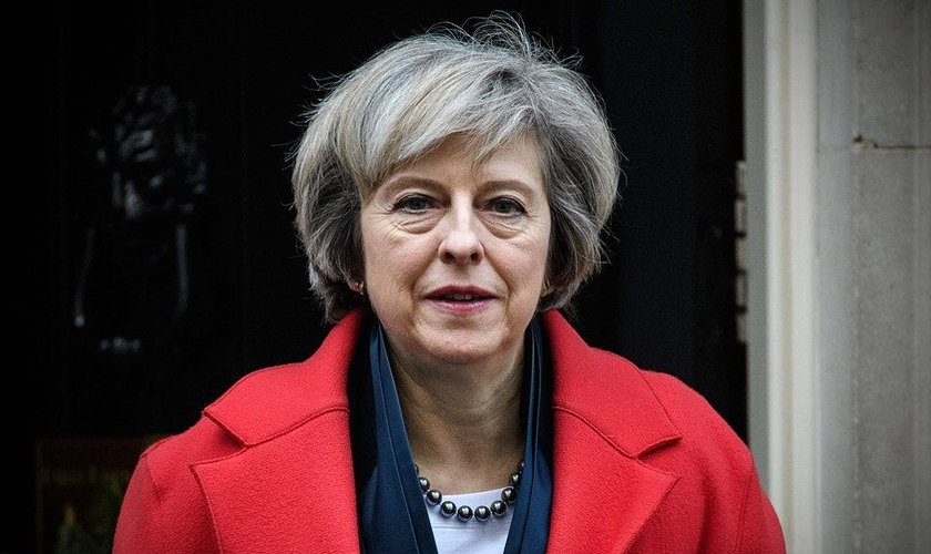 Theresa May é a primeira-ministra do Reino Unido. (Foto: Getty)