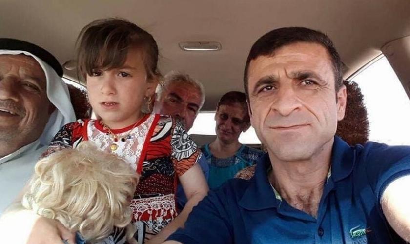 No dia 22 de agosto de 2014, militantes sequestraram Christina de sua mãe. (Foto: Reprodução).