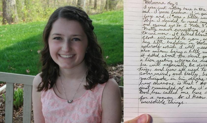Sarah Harmening era uma jovem missionária, que acabou morrendo em um acidente de ônibus, em Botsuana, África. (Imagem: Facebook)