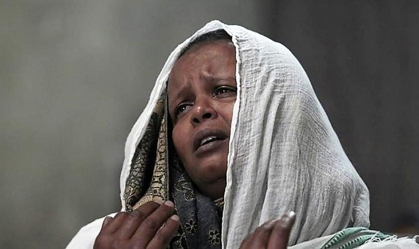 Workitu foi assassinada pelo próprio marido muçulmano, após ela se recusar a negar sua fé em Cristo. (Foto: Portas Abertas)