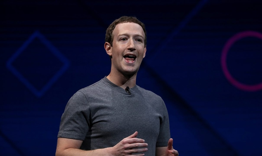 Mark Zuckerberg durante uma conferência do Facebook em San Jose, na Califórnia. (Foto: Justin Sullivan/Getty Images)