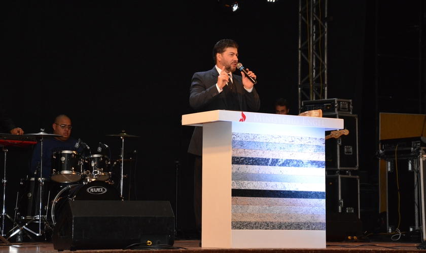 Apóstolo Joel Engel, idealizador da Escola Profética Unção de Elias. (Foto: Reprodução)
