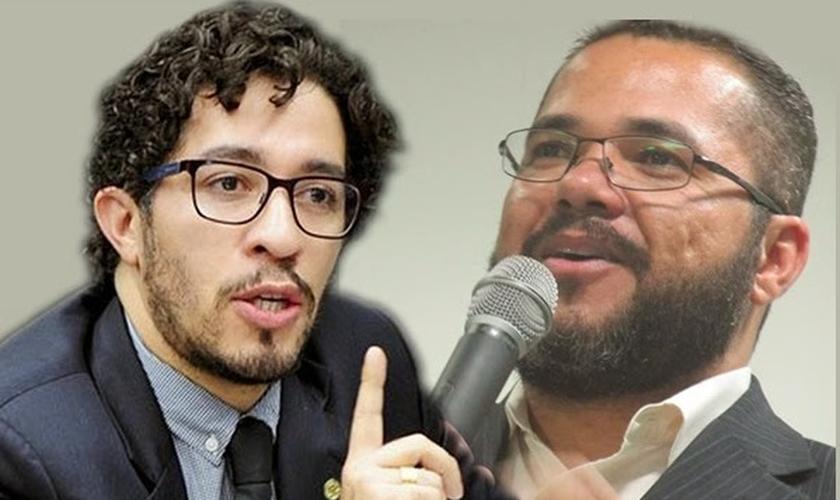 Claudemiro Ferreira e Jean Wyllys