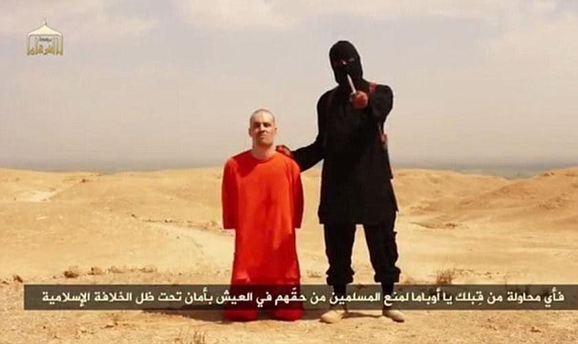 James Foley foi decapitado pelo terrorista do Estado Islâmico, recentemente identificado como  Mohammed Emwazie