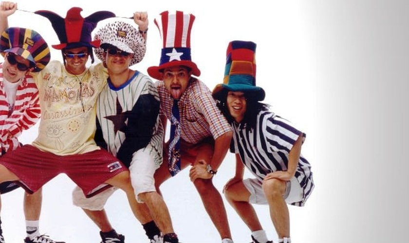 Mamonas Assassinas, uma das bandas mais marcantes da década de 90.