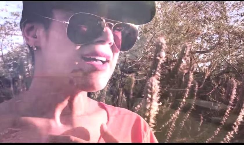 """Daniela Araújo gravou o clipe durante o projeto social """"impacto livre 2015"""", que promoveu ações de evangelismo pelo sertão do Piauí"""