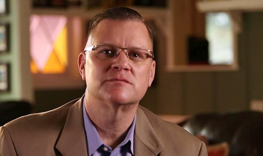 Wes Modder, capelão da Marinha Americana.