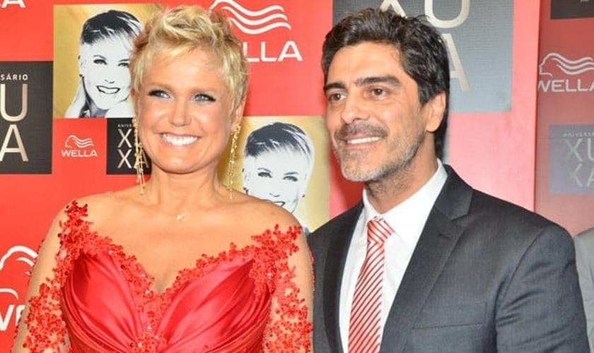 Xuxa e seu namorado, Junno Andrade. (Léo Franco e Caio Duran)