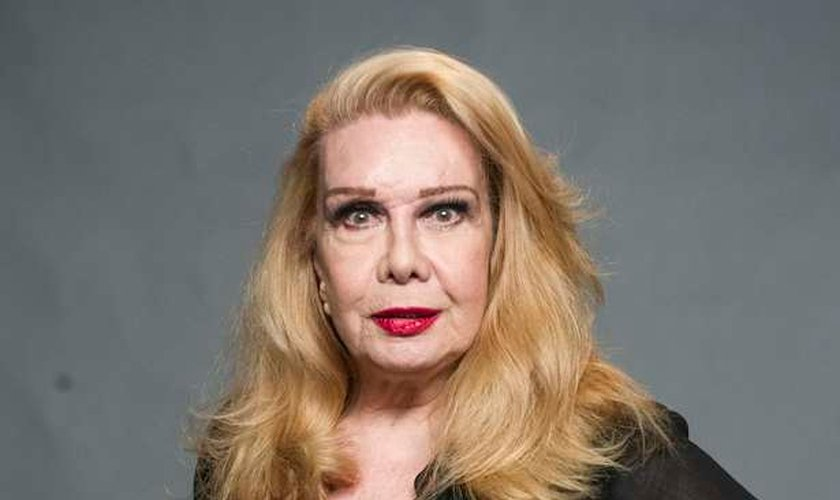 Rogéria relatou fatos bíblicos usando a linguagem gay. (João Cotta/TV Globo)