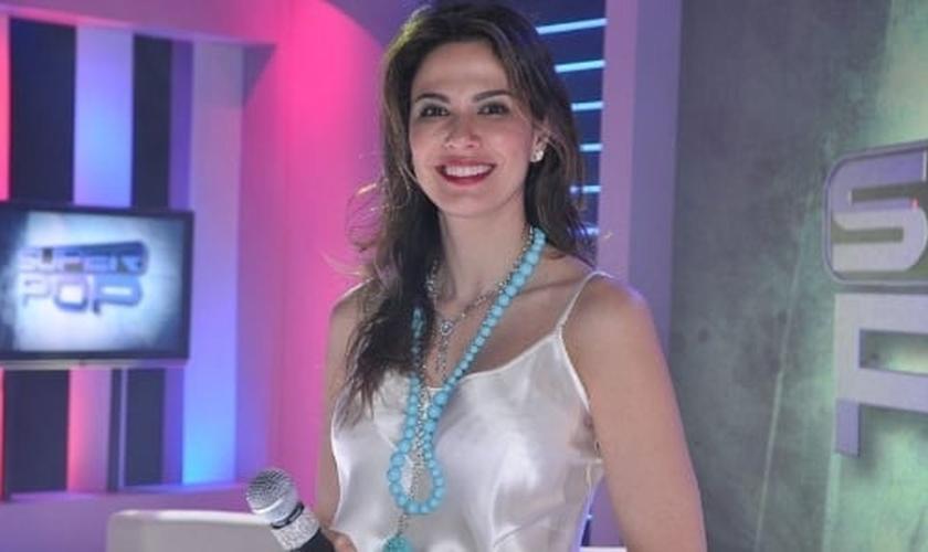 Luciana Gimenez, apresentadora do programa Superpop, da Rede TV.