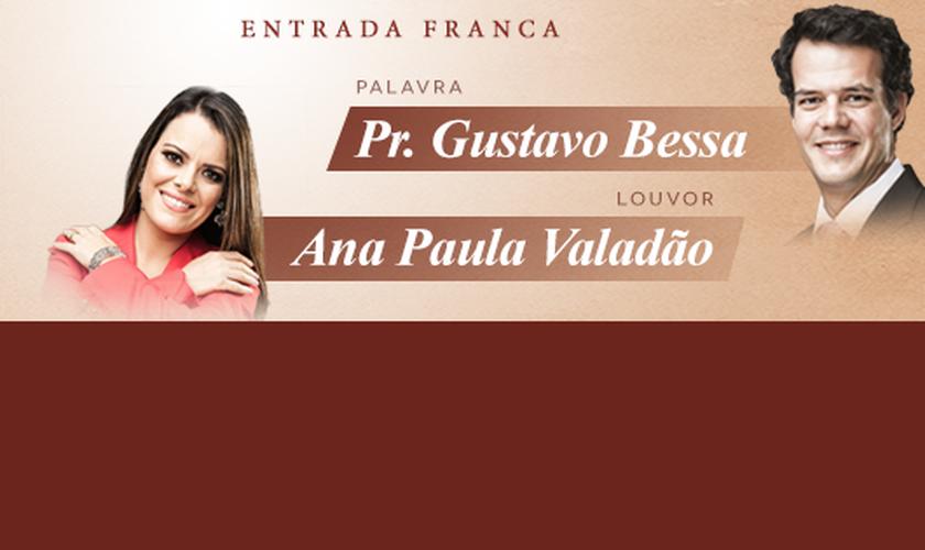 Nesta edição, o encontro terá como preletor o Pr. Gustavo Bessa (Igreja Batista da Lagoinha) e o momento de louvor ficará por conta de Ana Paula Valadão