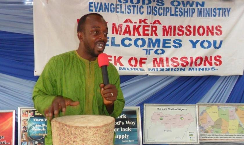 Pastor Joshua Adah foi assassinado por extremistas da etnia Fulani, no estado de Taraba (Nigéria), em Janeiro de 2015
