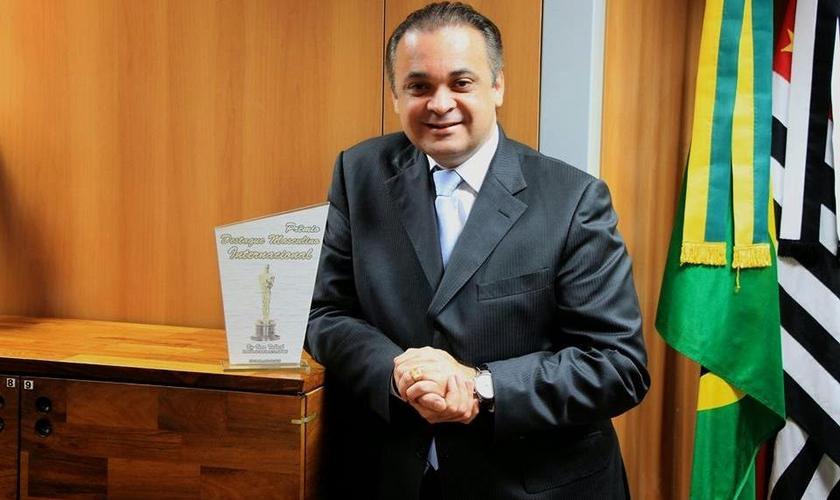 Roberto de Lucena é o primeiro pastor a comandar uma pasta na secretaria do Estado de SP.