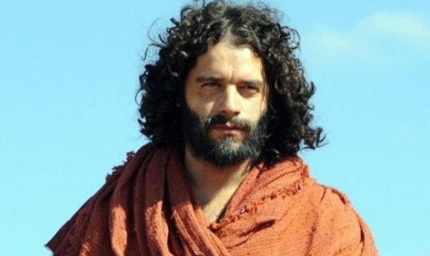 Moises, personagem bíblico da novela Os Dez Mandamentos.