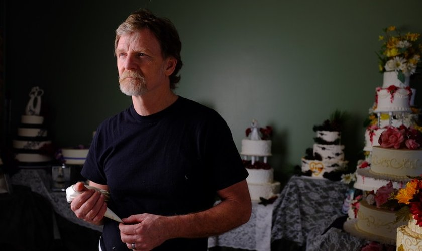 Jack Phillips é dono da confeitaria Masterpiece, no estado do Colorado (EUA).