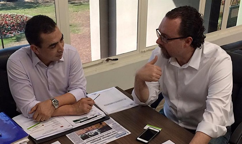 Benjamin Bill e Carlos Alberto Bezerra
