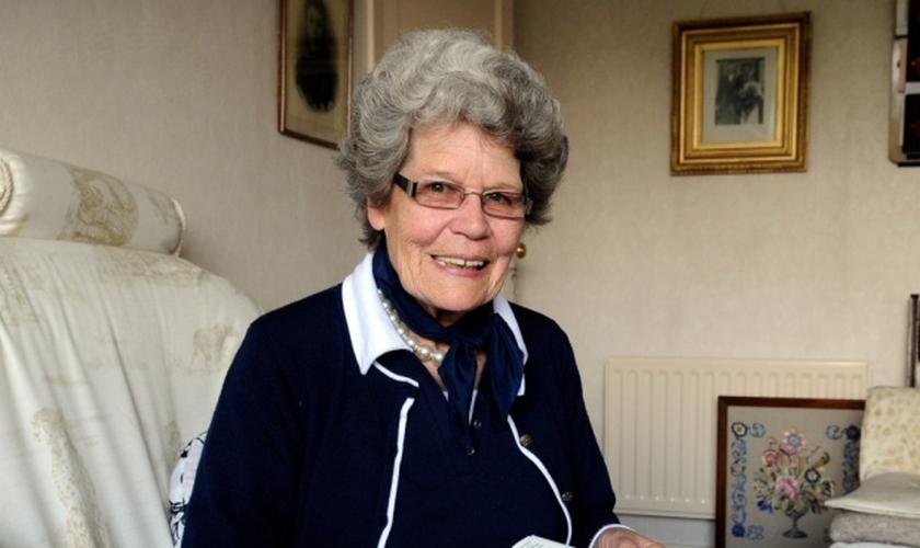 Maud Kells, de 75 anos, foi baleada durante a noite na casa em que vivia na vila de Mulita, no Congo, em janeiro deste ano.